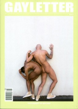GAYLETTER 8 (Cover-Photo: BEN ZANK)